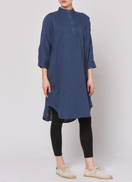 Built by Wendy Smock Dress - Navy
