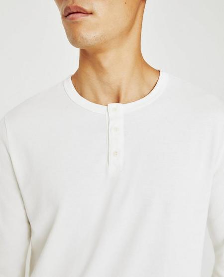 AG Jeans The Bryce Henley - Ivory Dust