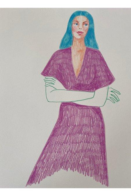 Rosie Kanellis Friend Series #13 ART