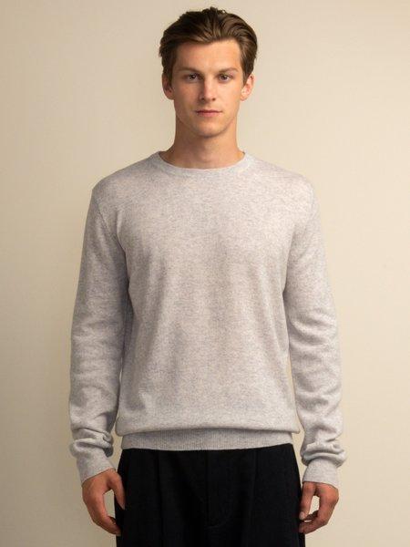 PURECASHMERE NYC Crew Neck Sweater - Grey