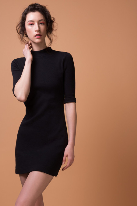 Odeyalo BLACK LOÏC DRESS