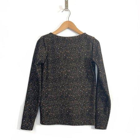 Melow Design Daria Top - Black Tweed