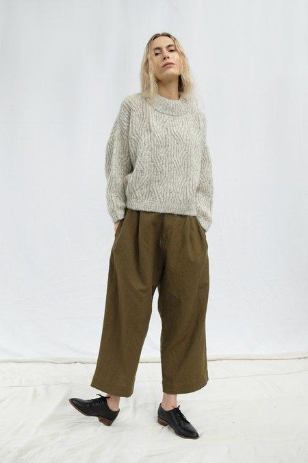 Micaela Greg Fir Pleated Trouser