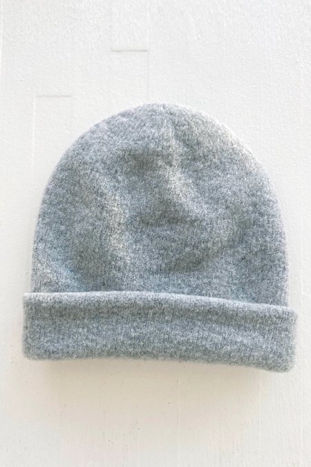 Micaela Greg Speckle Boucle Hat - Heather Grey