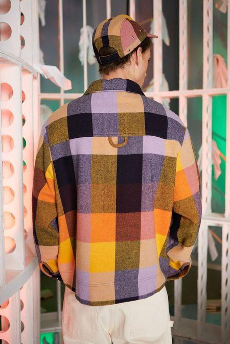 Henrik Vibskov Lamington Jacket - Yellow/Lavender/Orange