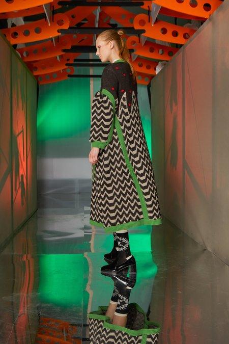 Henrik Vibskov Remonce Knit Dress - Crazy Mix Cake