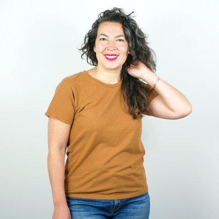 Jungmaven Lorel Crew T Shirt - Copper
