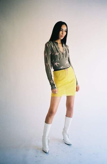 Cormio Valentina Limone Skirt - yellow