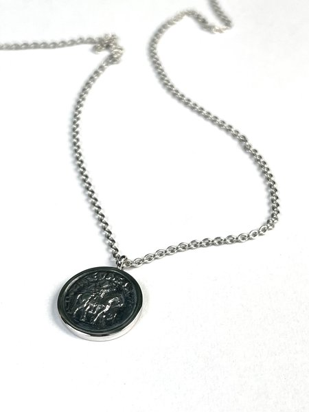 Tom Wood COIN PENDENT - Sterling Silver