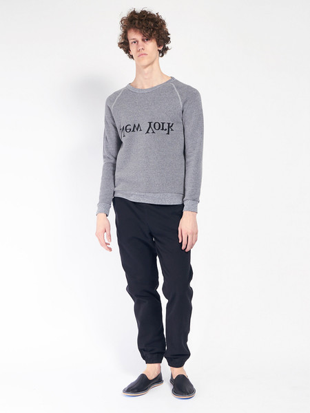 Assembly New York NY Logo Sweatshirt - Heather grey