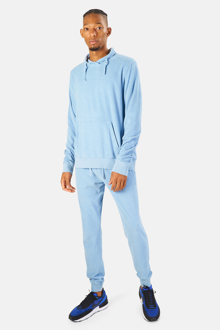 04651/ 04651 Terry Turtleneck Sweater - Blue