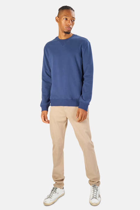 Blue&Cream Mont Blanc Crewneck Sweater - Vintage Royal