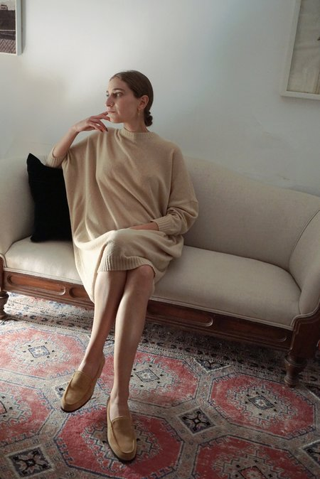 DIARTE LEANDRA DRESS - BUTTER