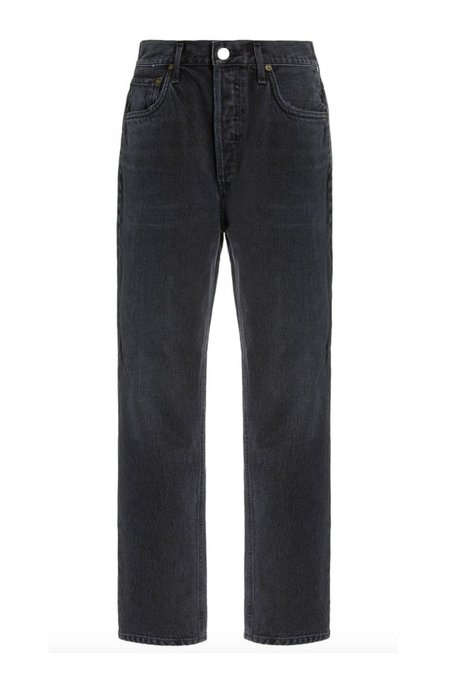 AGOLDE Riley Crop Jeans - Panoramic
