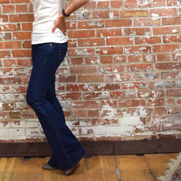 Yoga Jeans Mid Rise Flare Denim