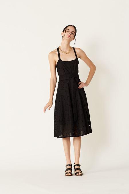 Megan Huntz Martha Dress - Black