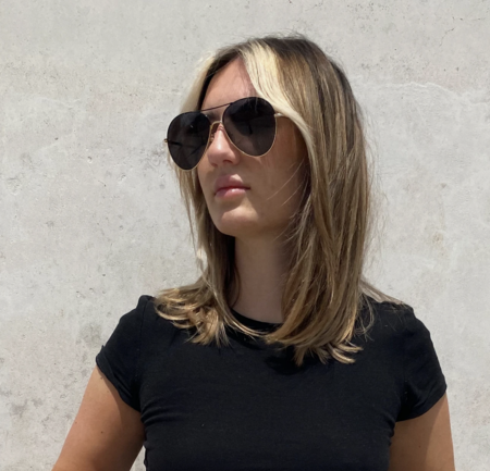 DIFF Knox Frames Sunglasses - Gold