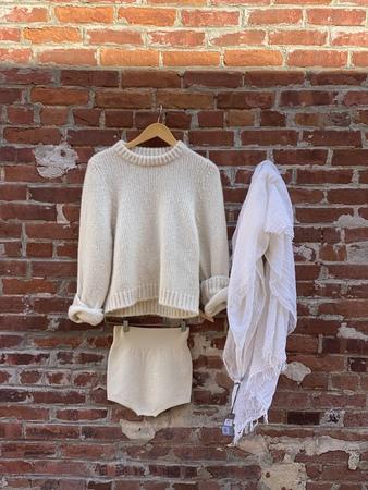 Dusan Cashmere sweater - Cream