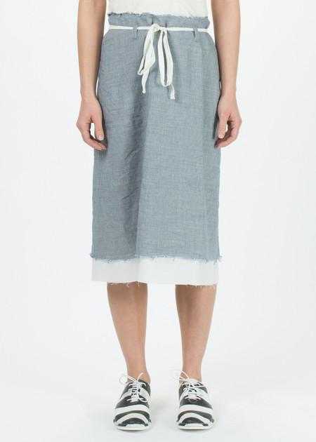 Hannoh Wessel Frayed Hem Janice Skirt