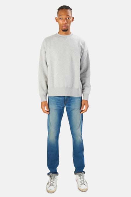 President's Crewneck Sweater - grey melange