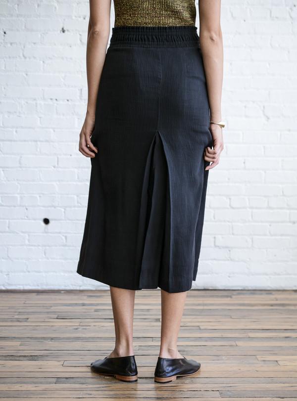Apiece Apart Obsidian Slit Skirt