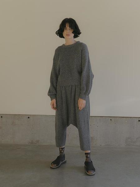 Atelier Delphine Kiko Alpaca Pant - Charcoal
