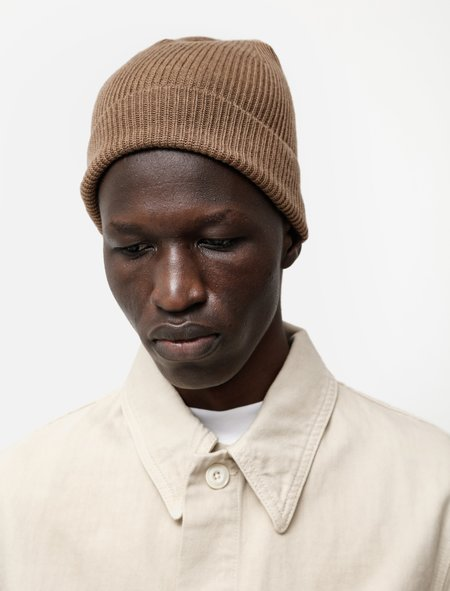 Lemaire Knitted Hat - Walnut