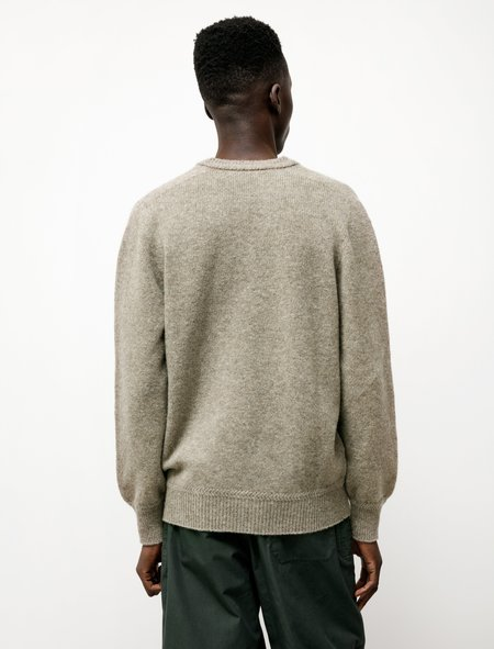 Lemaire Seamless V-Neck Sweater - Meadow