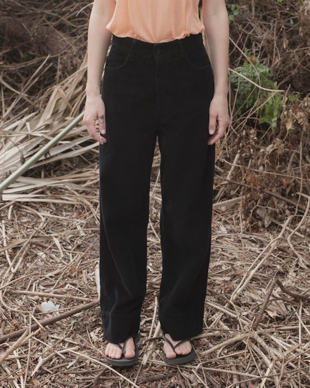 BaserangeOrganic Cotton Navalo Pants - Black