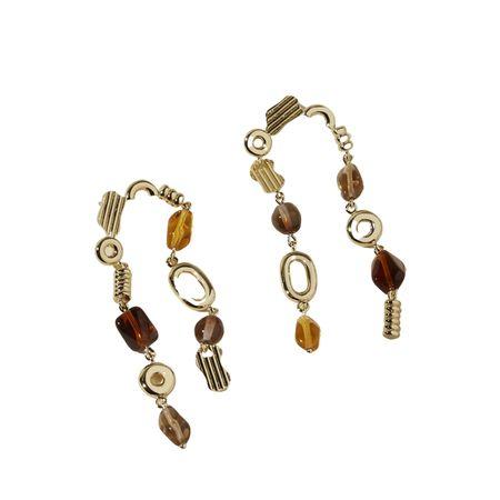Lindsay Lewis Jewelry Avery Earrings - Gold/Brass