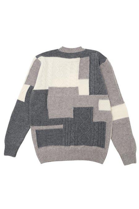 Country of Origin X Bergdorf Goodman #2 sweater - Gray/Cream