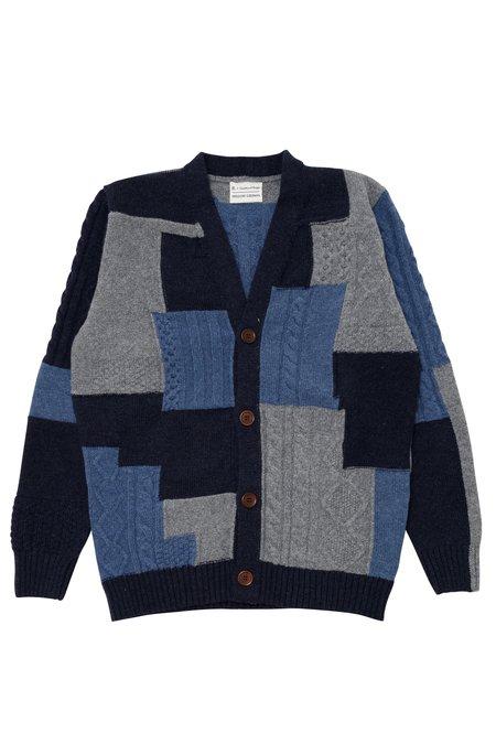 Country of Origin X Bergdorf Goodman #5 cardigan - blue