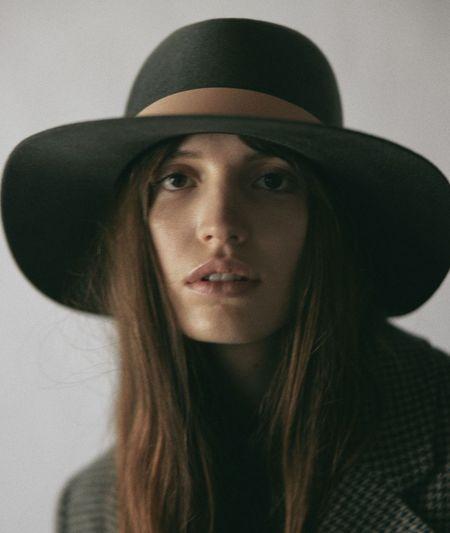 Janessa Leone Darian Hat - Grey