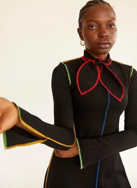 Eliza Faulkner Pippa Dress - Black/Multicolour
