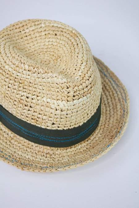 Lola Tarboush Bis Hat - Seaweed