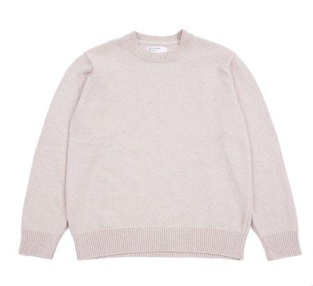 Universal Works LOOSE CREW Sweatshirt - SAND