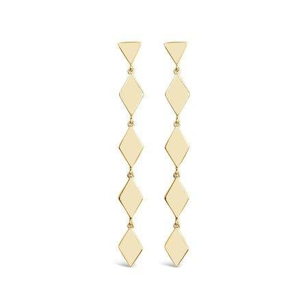 Sierra Winter Tallgrass Earrings - Gold