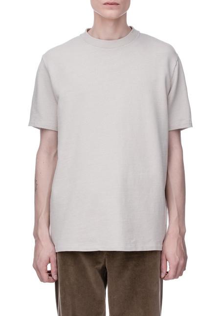 Our Legacy Box T-Shirt - Sand Cotton/Linen