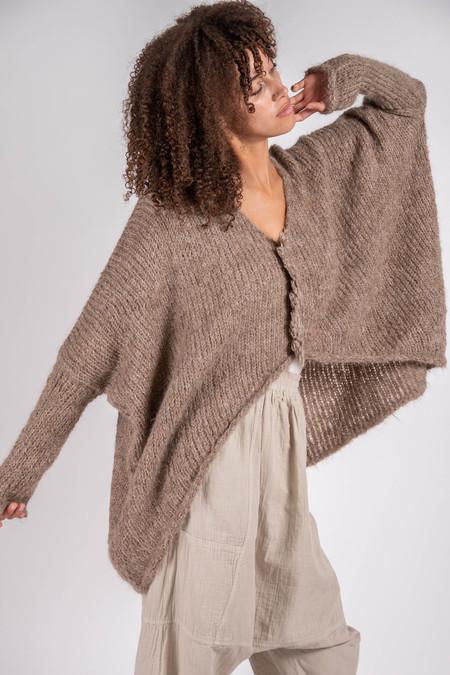 Atelier Delphine Ren Suri Alpaca Knit Top - Cedar