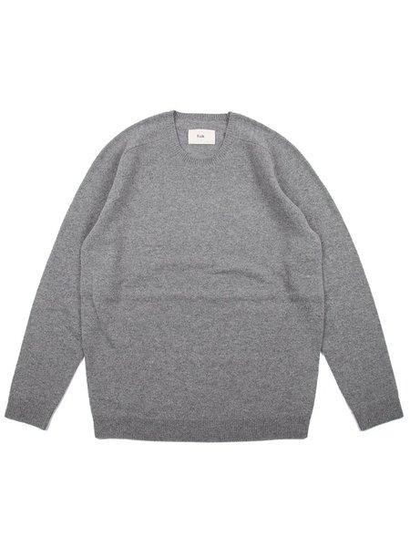 Folk Clothing Patrice Crew Knit sweater - Grey Melange