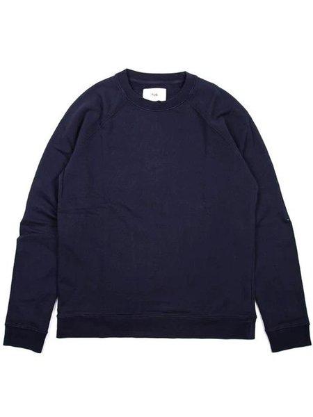 Folk Clothing Rivet Sweat - Navy