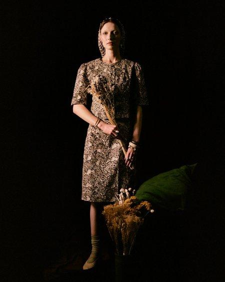 Meadows Bluebell Skirt - Nouveau Floral