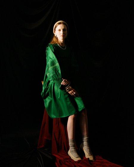 Meadows Fleur Dress - Emerald