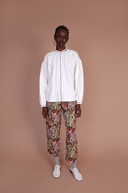Meadows Hazel Linen Shirt - White