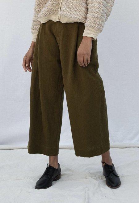 Micaela Greg Pleated Trousers - Fir