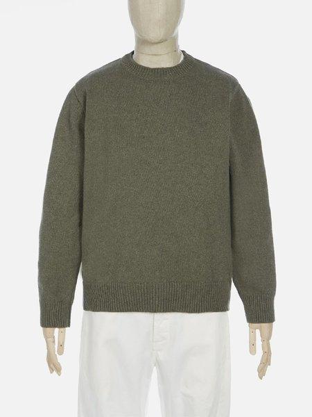 Universal Works Loose Crew Sweater - Cool Green
