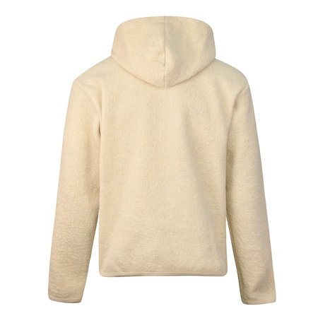 Universal Works Beach Wool Fleece Hood sweater - Off White