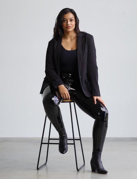 Commando Faux Patent Leather Legging - black