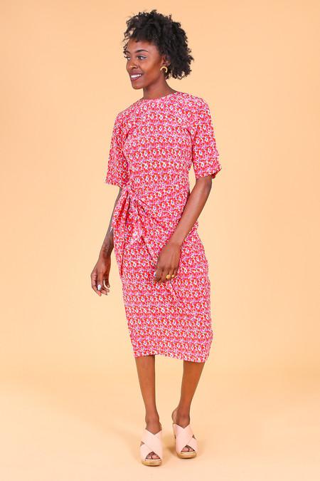 Tucker The Convertible Wrap Dress in Croque en Bouche