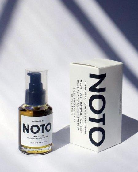 NOTO botanics AGENDER OIL // ANYWHERE HAIR + BODY